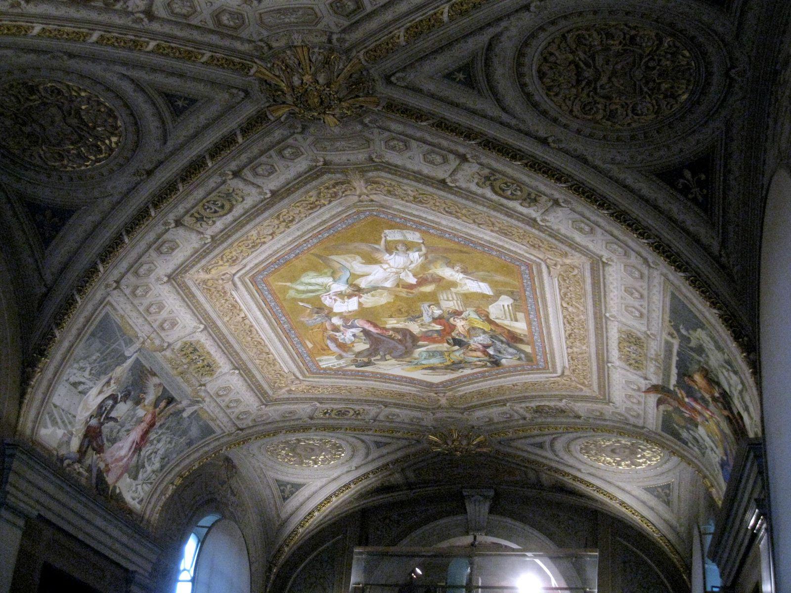La Salle en croix grecque, musée Pio-Clémentin (2/2)