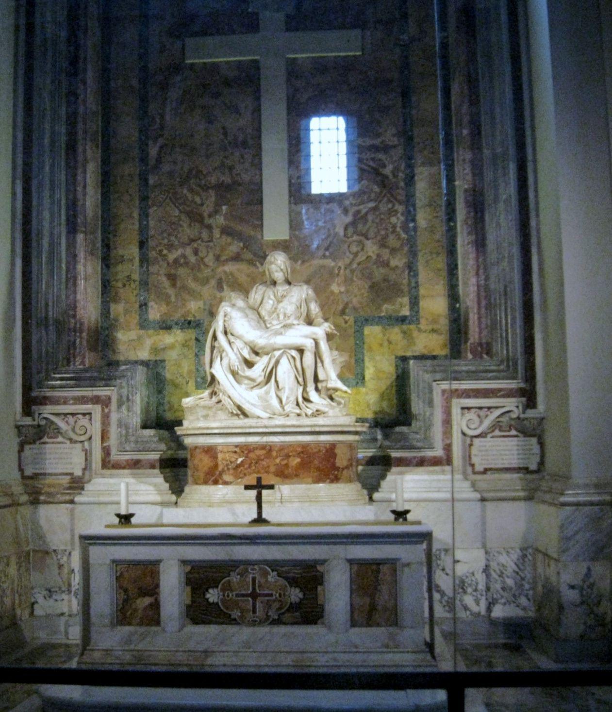 La Piéta, basilique Saint-Pierre du Vatican