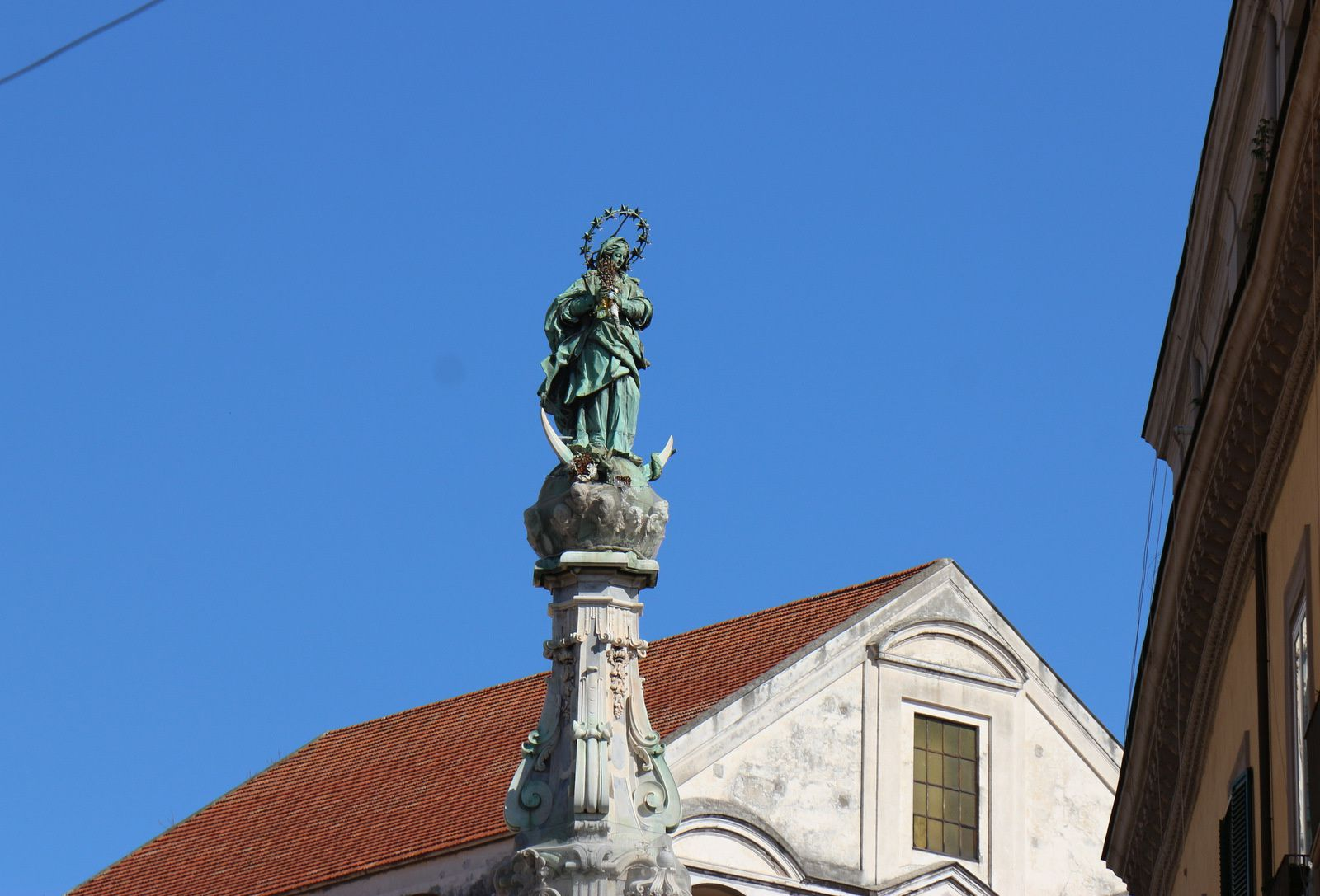 La Guglia (obélisque) de la piazza del Gesù Nuovo, Naples