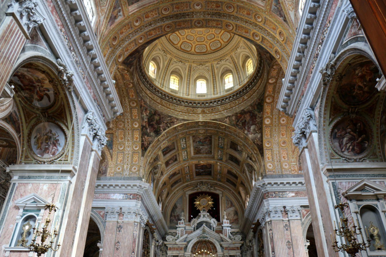 Eglise del Gesù Nuovo, le Maître-autel
