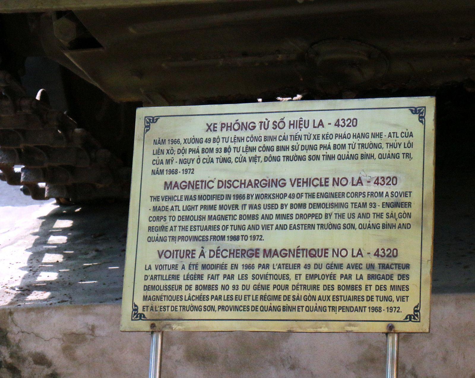 Matériels du musée d'histoire militaire de Hanoï