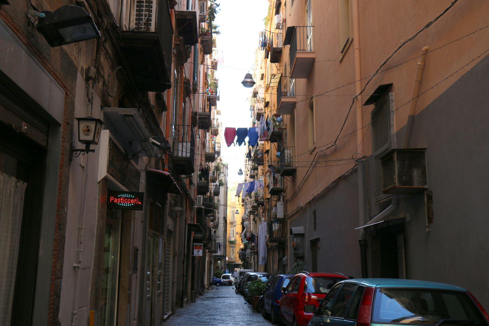 Naples et ses ruelles