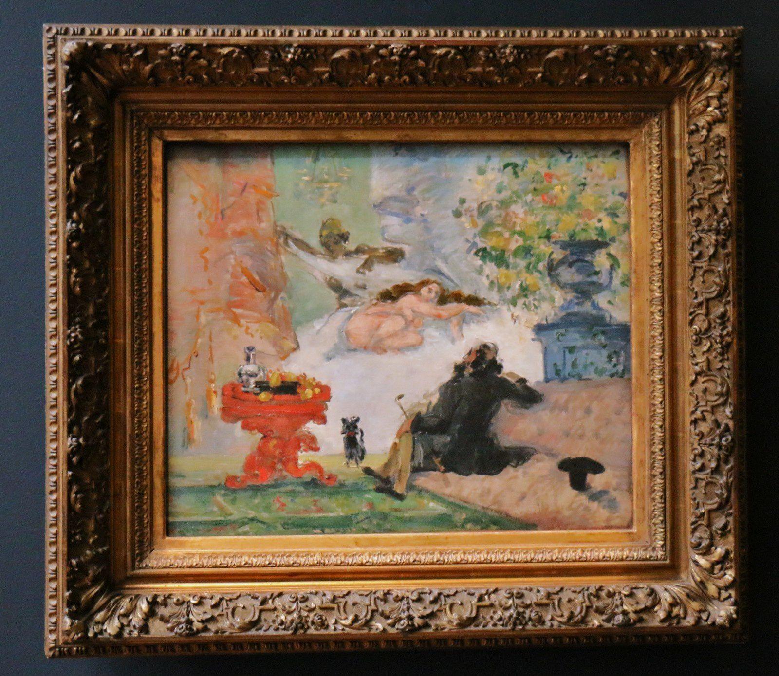 Paul Cézanne, Une moderne Olympia