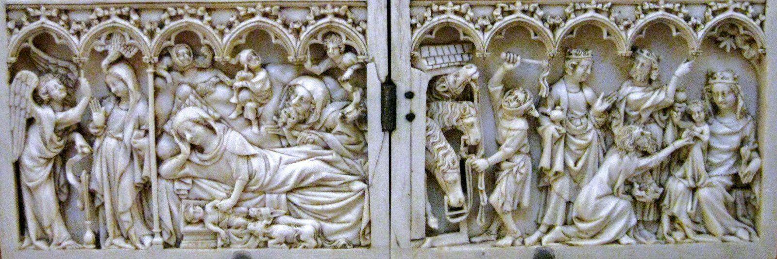Diptyque : Scènes de la vie et de la Passion du Christ (Petit Palais)