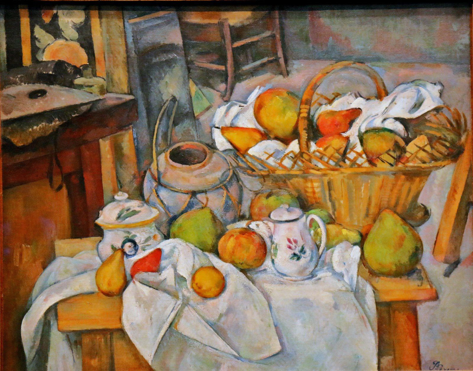 Paul Cézanne, La table de cuisine