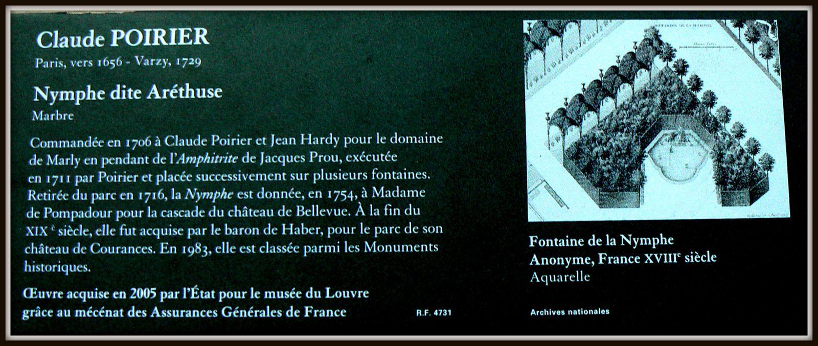 Claude Poirier, Aréthuse