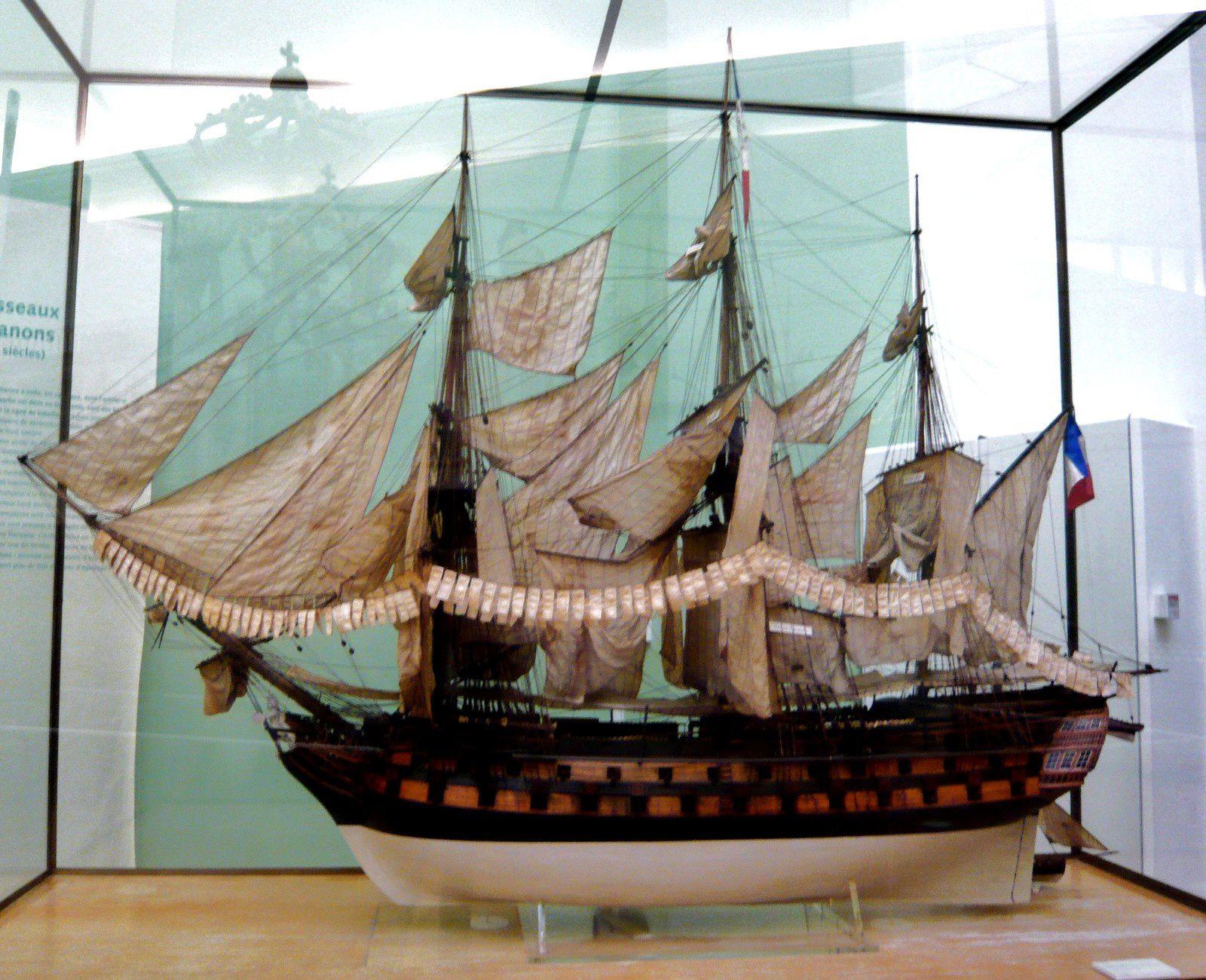 L'Achille, vaisseau de 74 canons