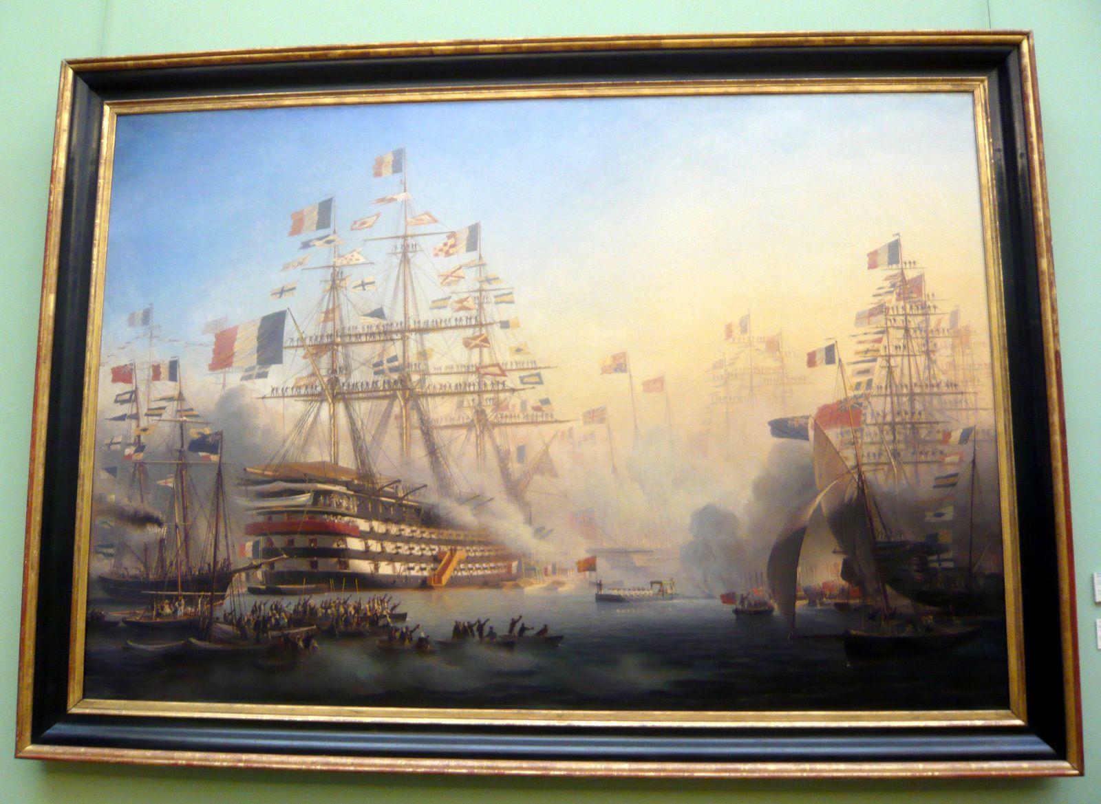 Antoine-Léon Morel-Fatio, la Reine Victoria à Cherbourg