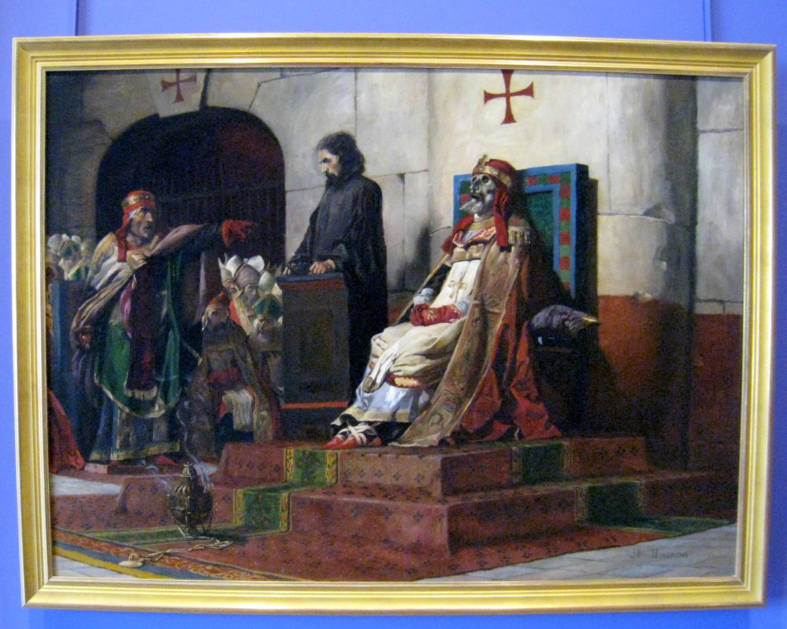 Jean-Paul Laurens, jugement du pape Formose