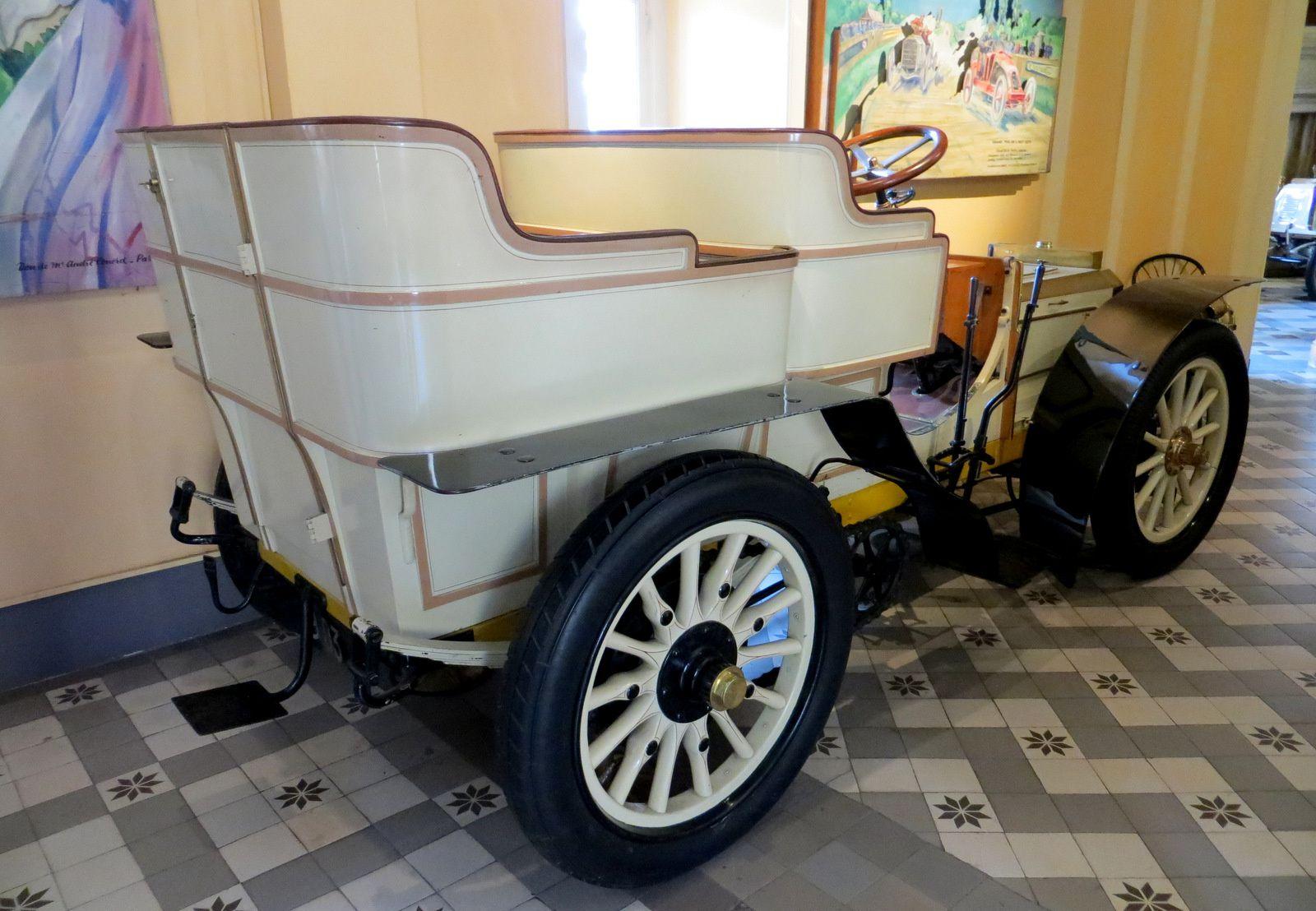 Peugeot 1903, tonneau 4 places