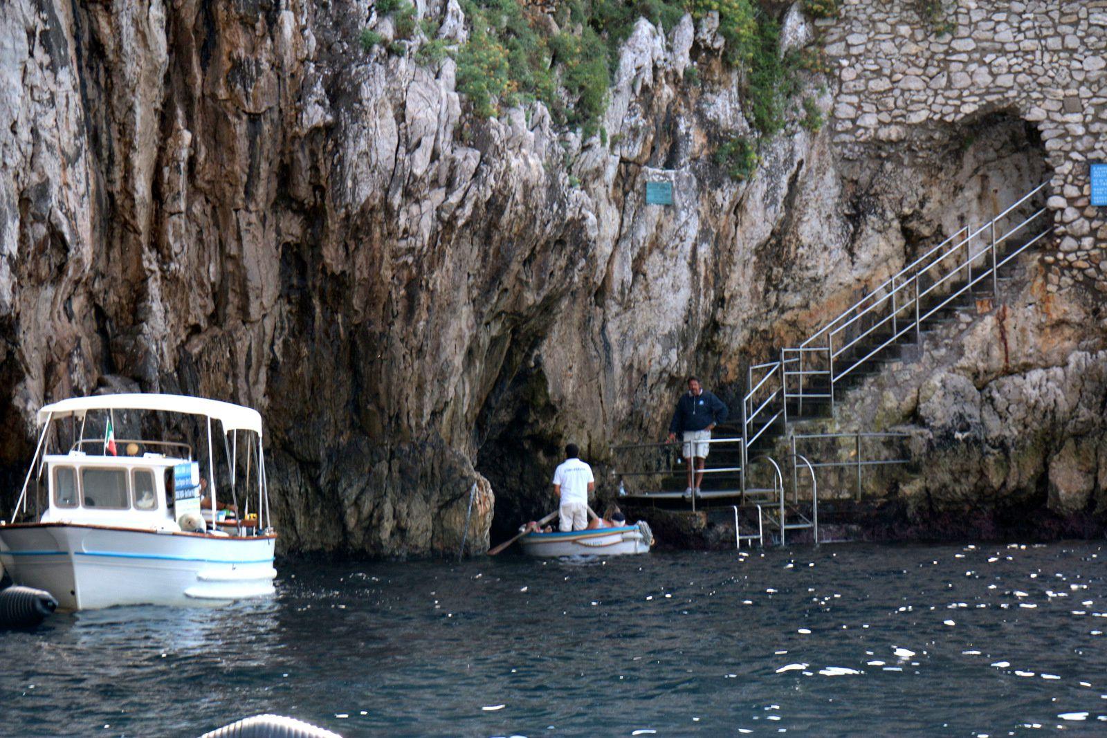 La grotte bleue (grotta azzurra), Capri