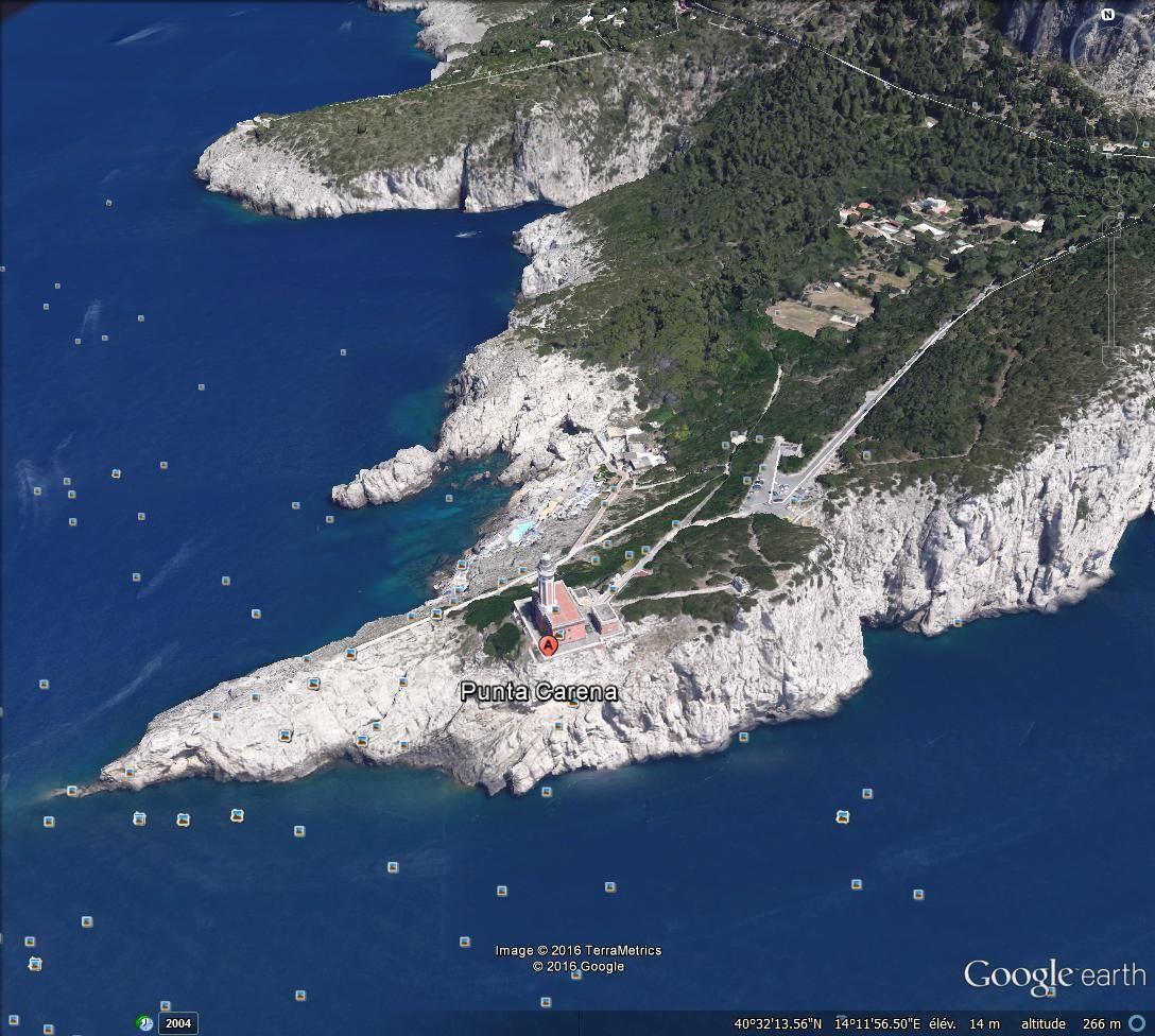 Phare de Punta Carena, Capri