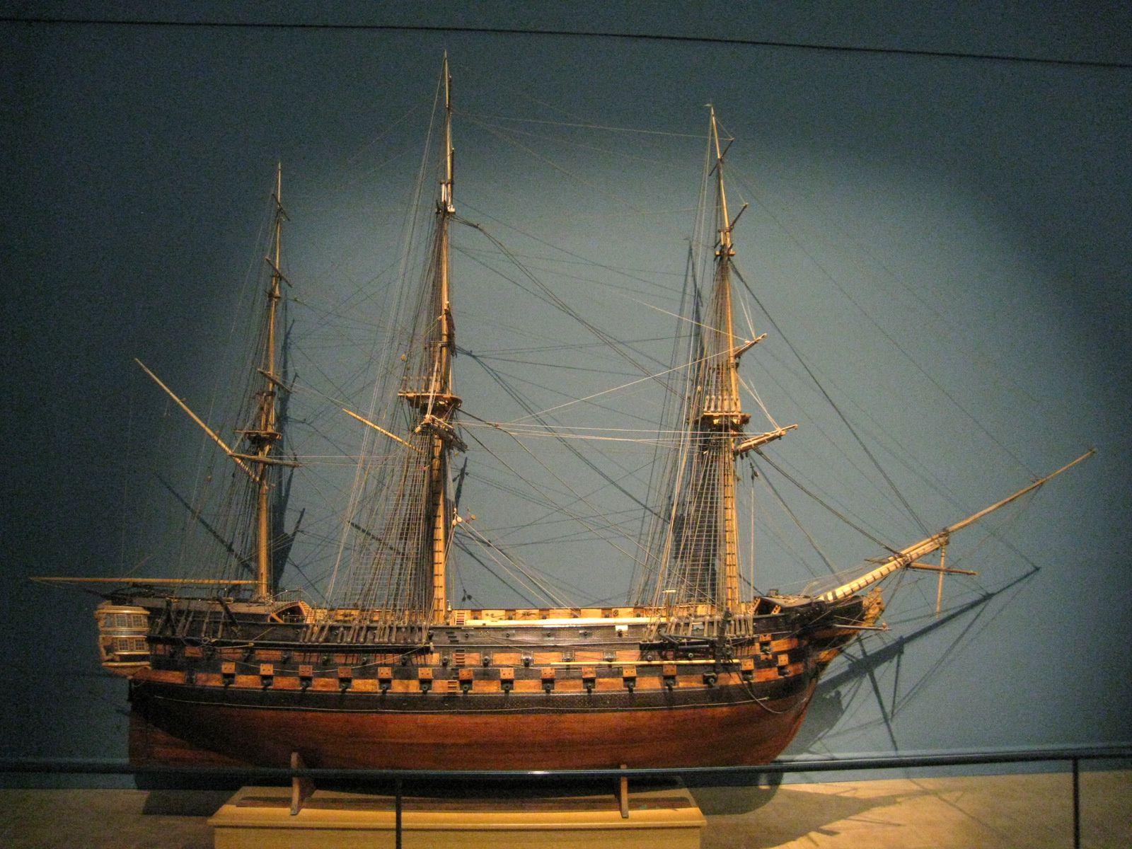 Le Suffren, vaisseau de 90 canons