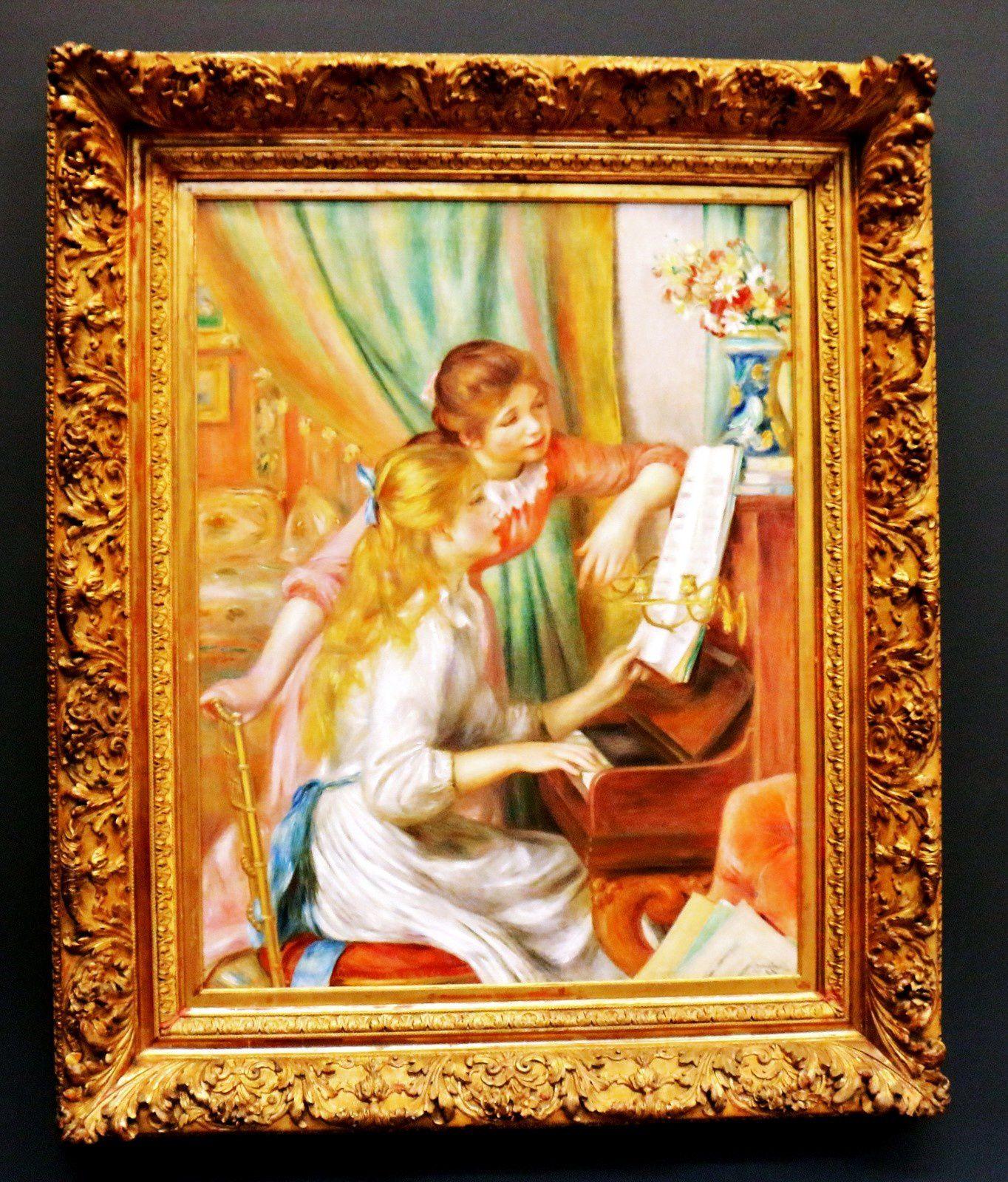 Pierre-Auguste Renoir, Jeunes filles au piano
