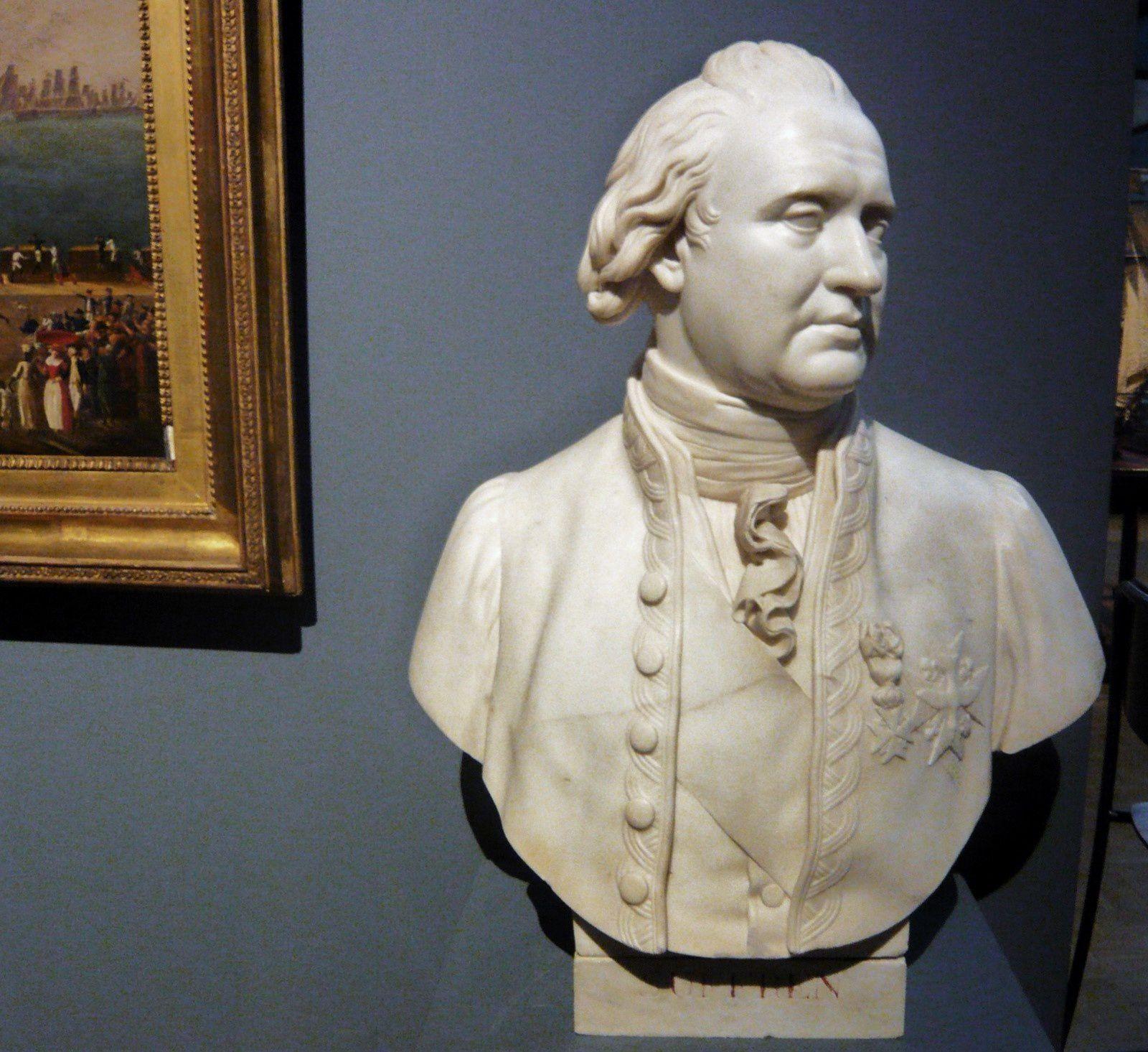 Isidore-Hippolyte Brion, buste de Pierre-André de Suffren de Saint-Tropez