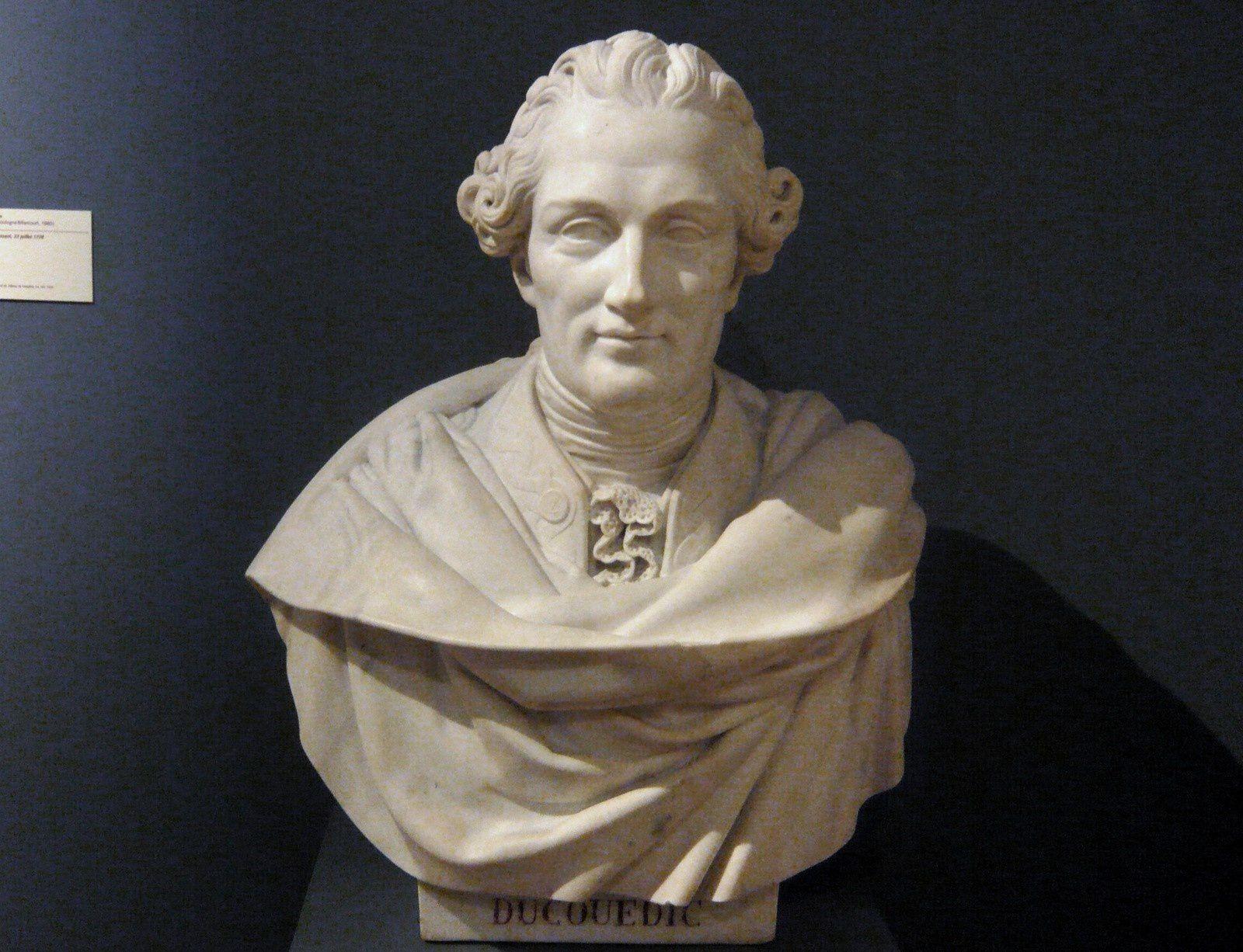Louis-Victor Bougron, buste de Charles Ducouédic de Kergoualer