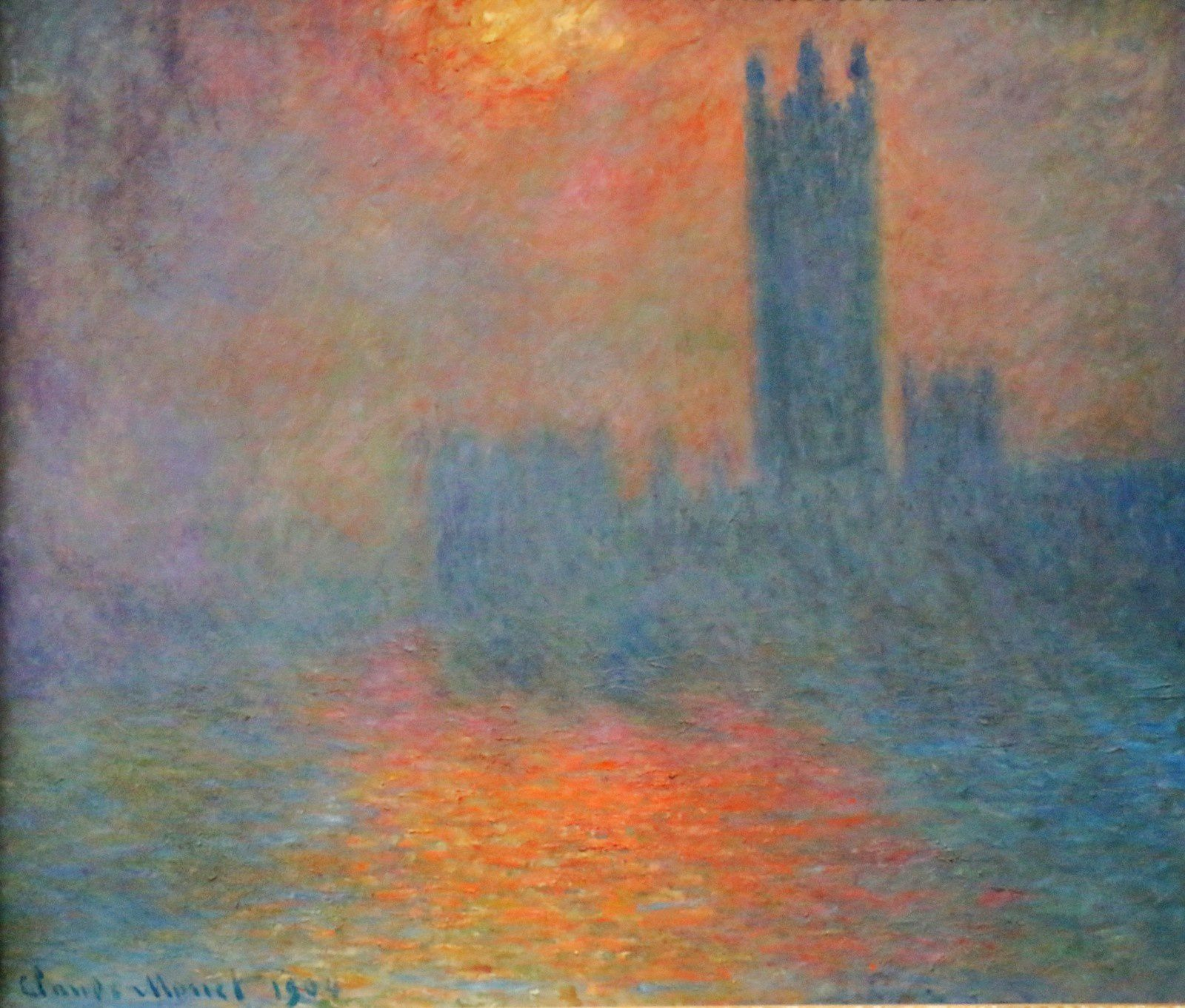 Claude Monet, Londres, le Parlement