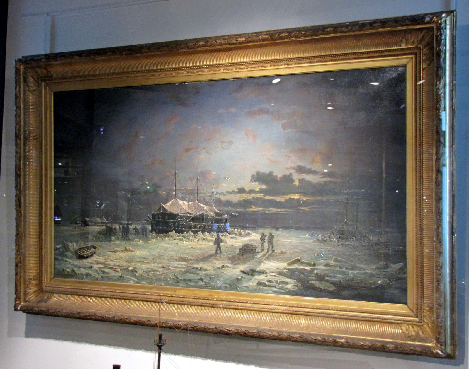 Pierre-Emile de Crisenoy, Hivernage en Mer Noire ...