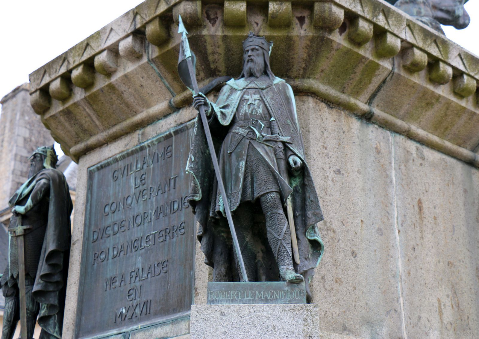 Robert le Magnifique et Rollon, ducs de Normandie
