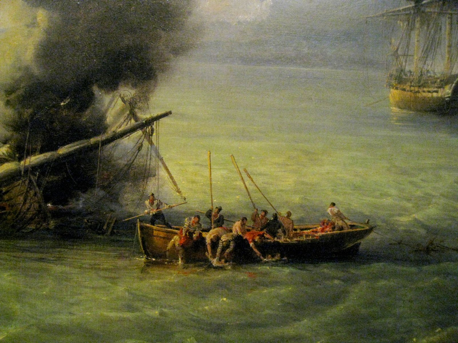 Pierre-Julien Gilbert, le combat du Grand Port, 23 août 1810