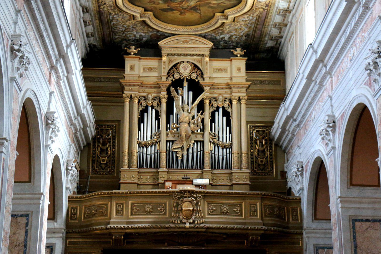 Dans la cathédrale de Sorrente