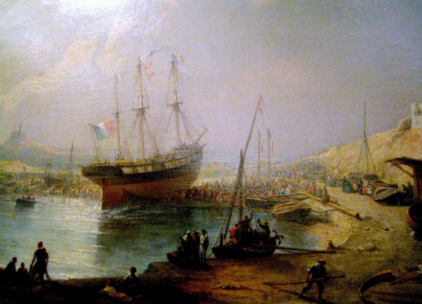 François Barry, le lancement du Maximus dans les environs de Marseille