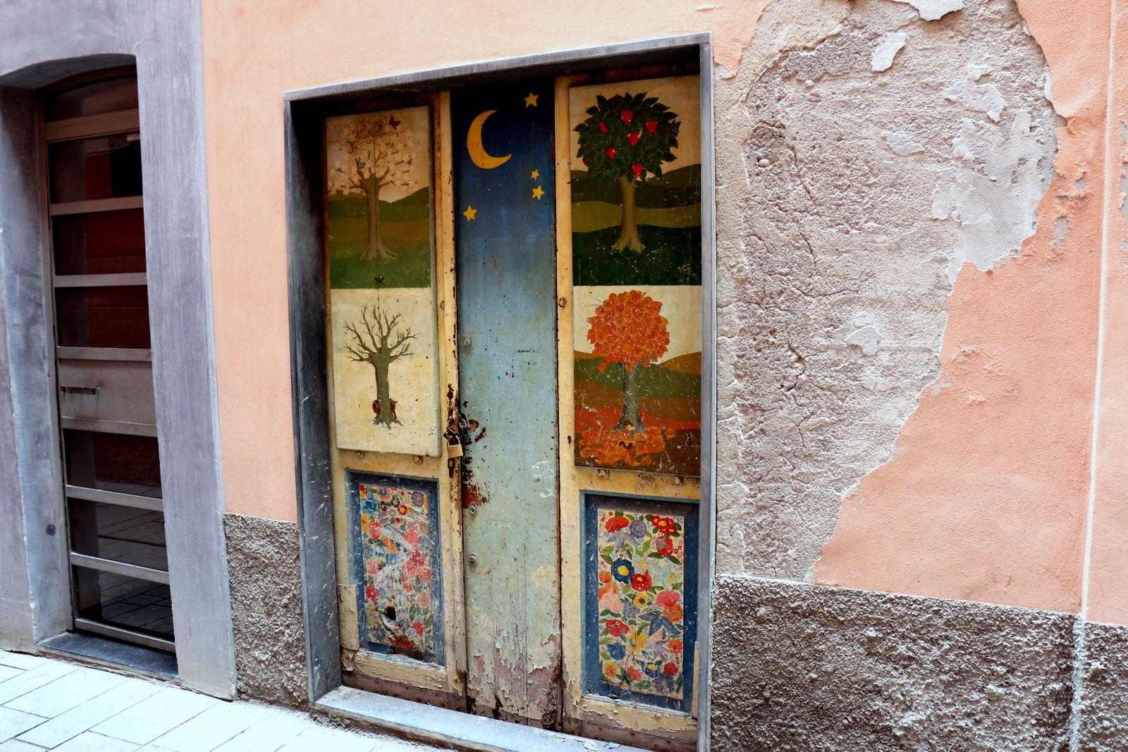 Balade dans les ruelles de Savone, Italie