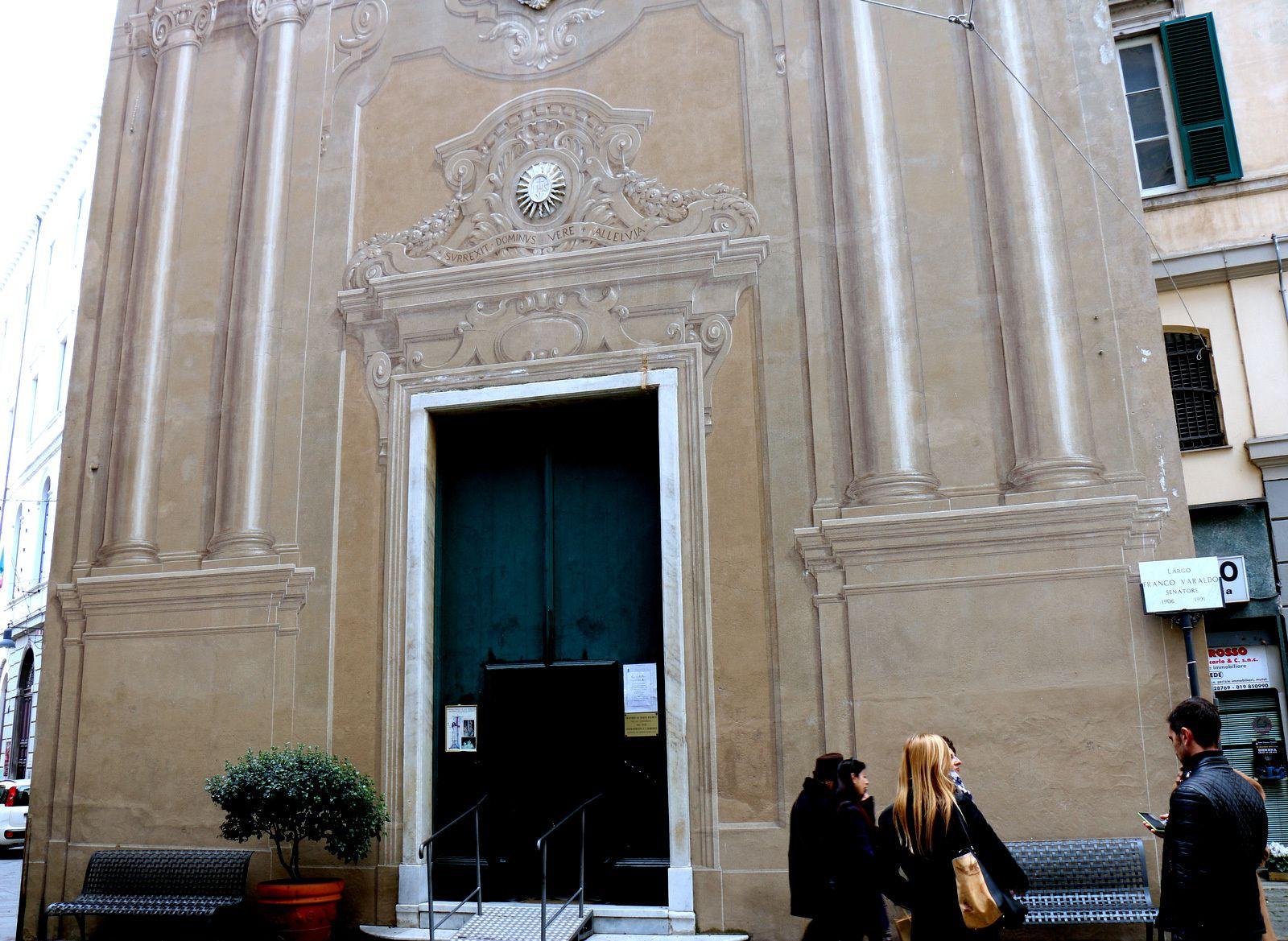 Oratorio del Cristo Risorto (Oratoire du Christ ressuscité), Savone (Italie)