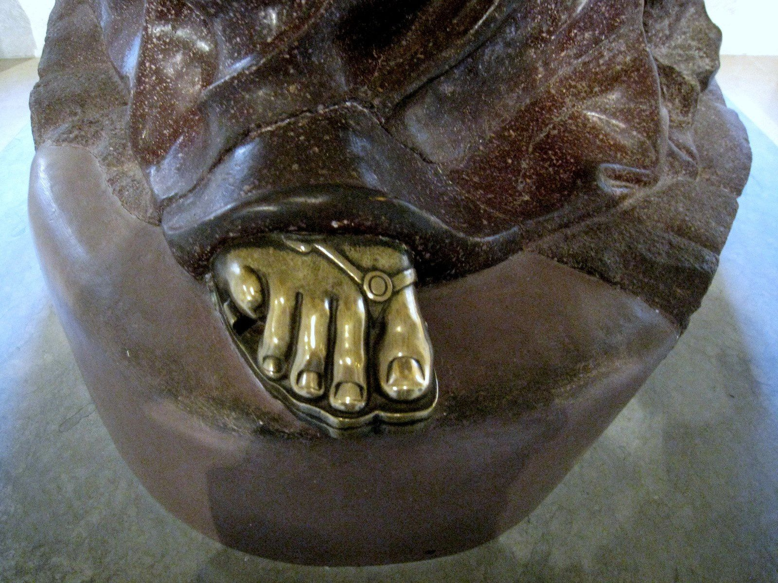 Minerve assise restaurée en Rome, collection Mazarin