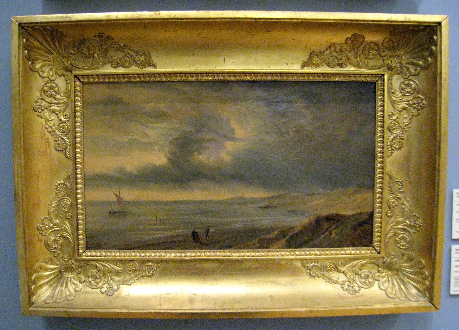 Théodore Gudin, côte à marée basse