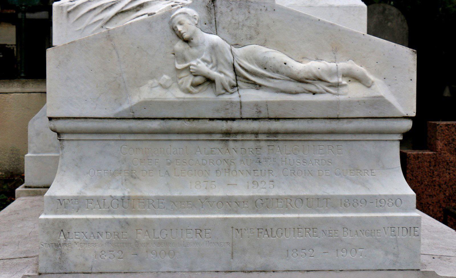 Alexandre Falguière, cimetière du Père Lachaise