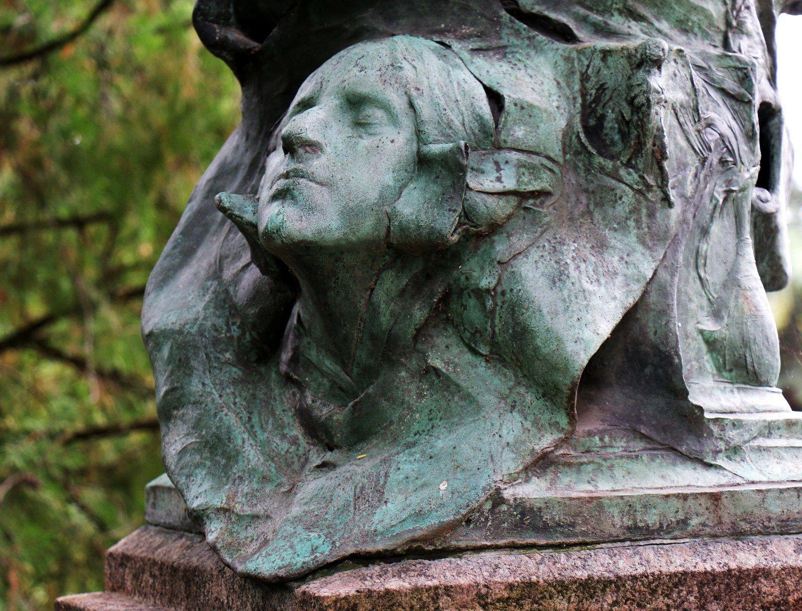 Jean-Joseph-Marie Carriès, cimetière du Père Lachaise