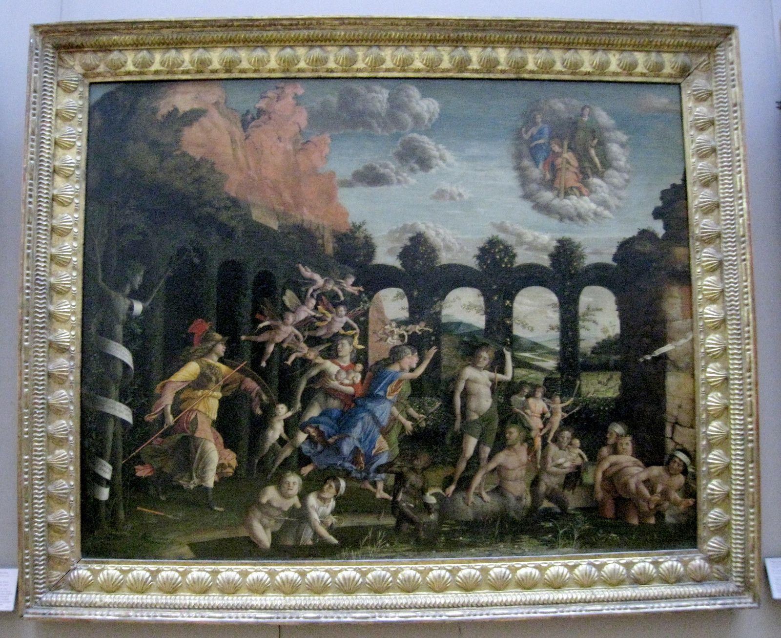 Andrea Mantegna, Minerve chassant les Vices du Jardin de la Vertu