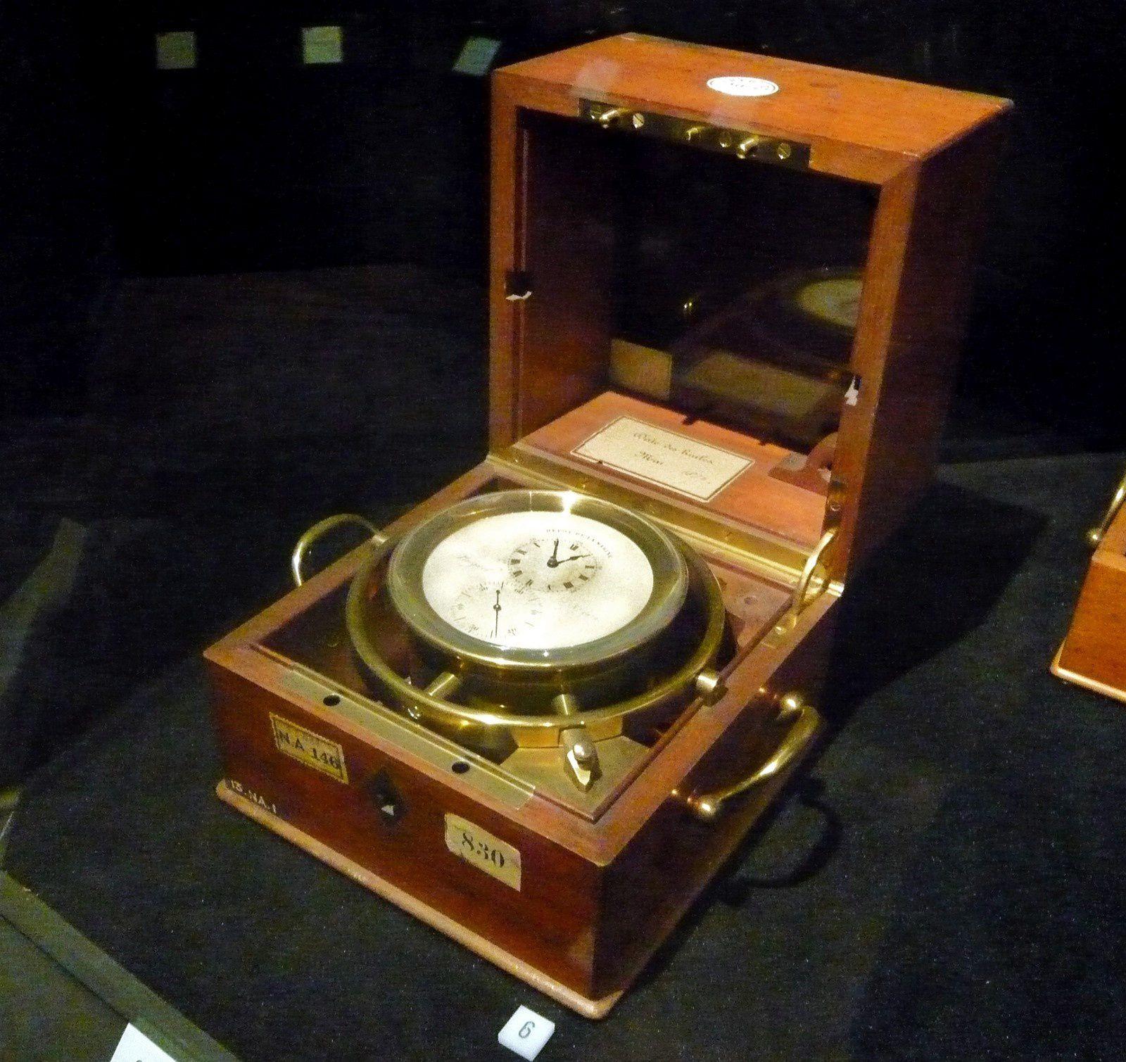 Sextant à double platine, Cercle de Mendoza, Chronomètre à suspension
