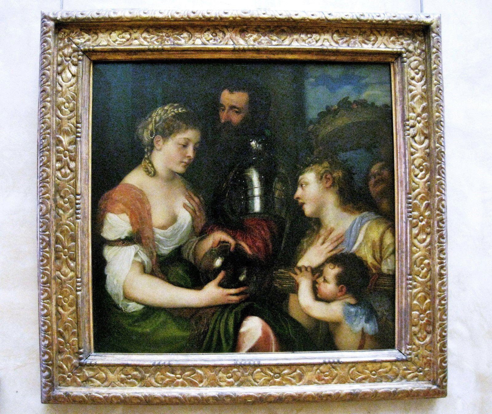 Tiziano Vecellio dit Titien, Allégorie conjugale