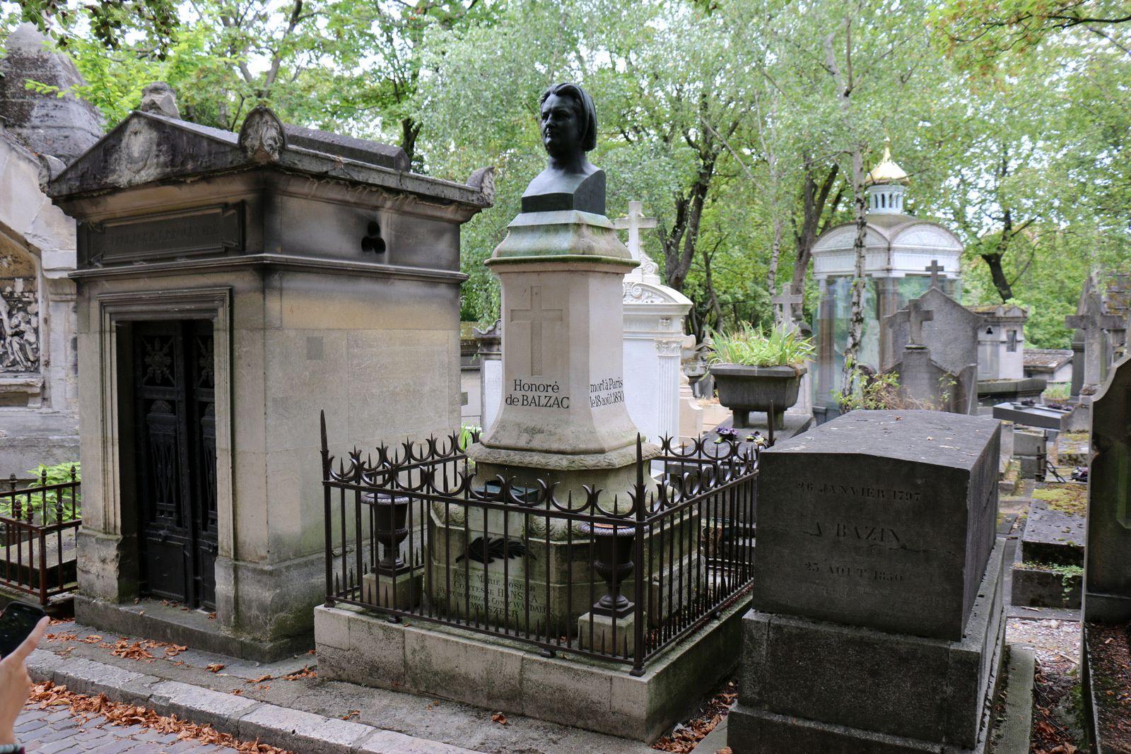 Honoré de Balzac, cimetière du Père Lachaise