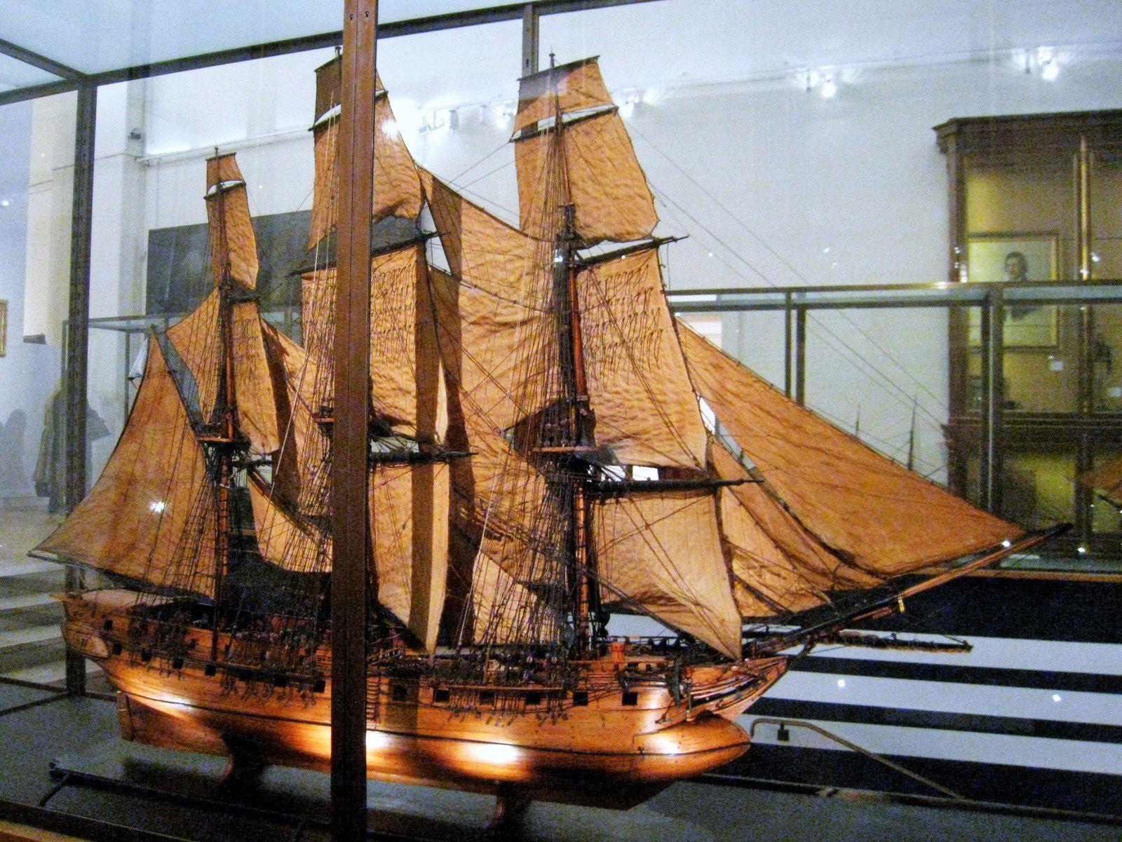 Projet de bâtiment d'exploration polaire, fin XVIIIe siècle