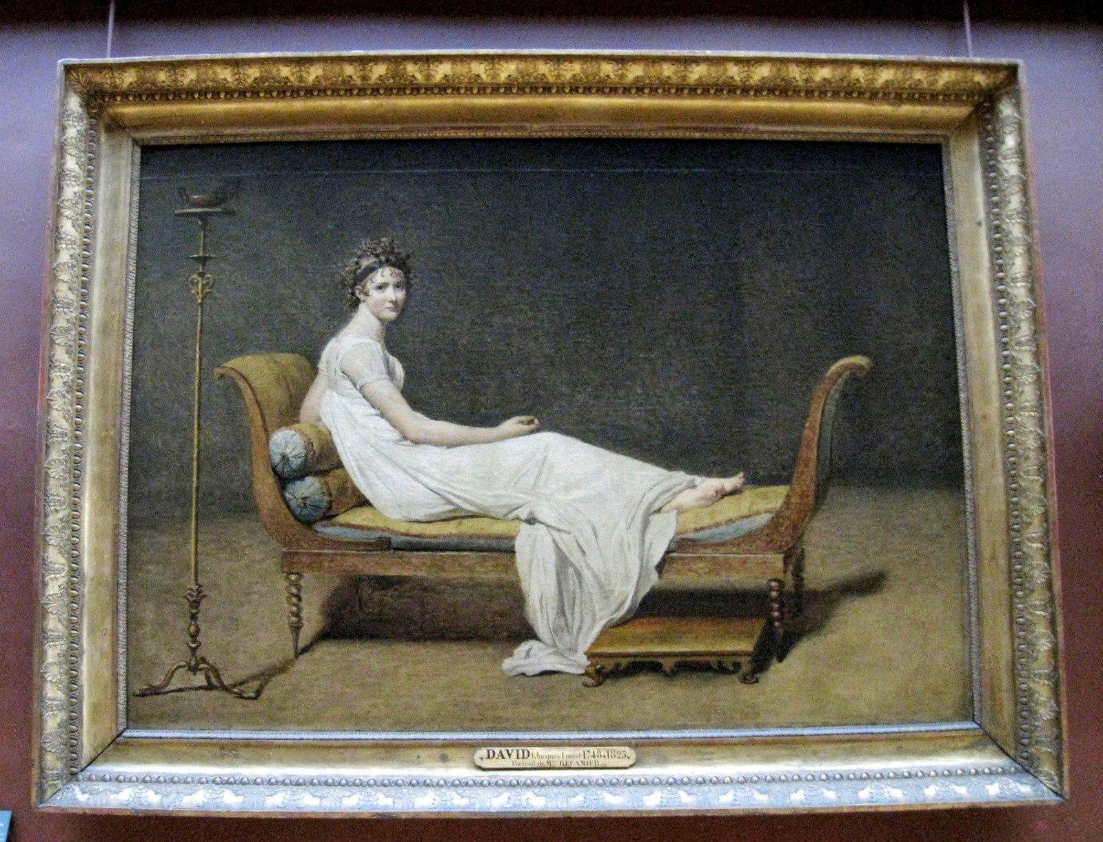 Louis David, madame Récamier