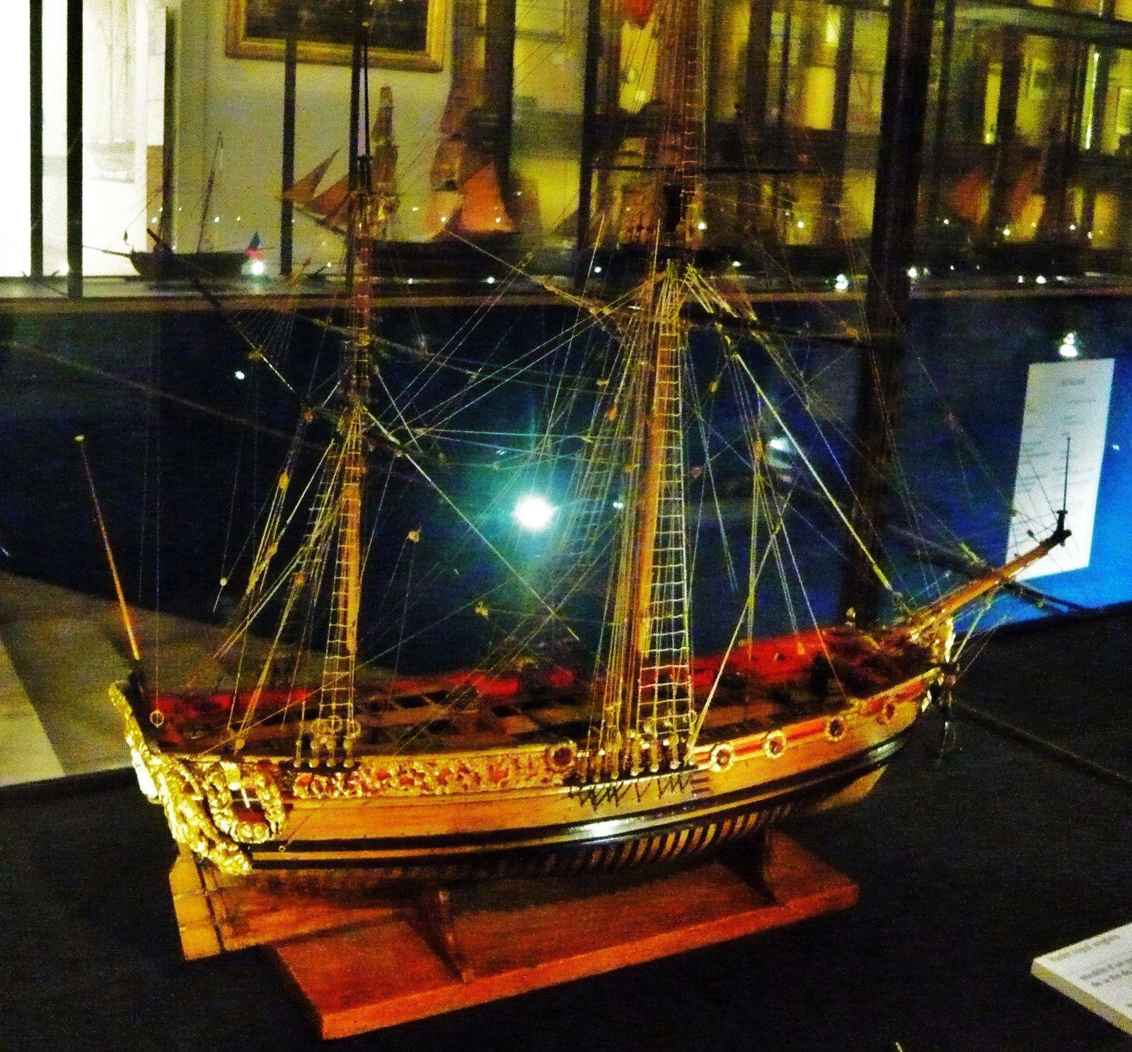 Yacht royal anglais du XVIIe siècle
