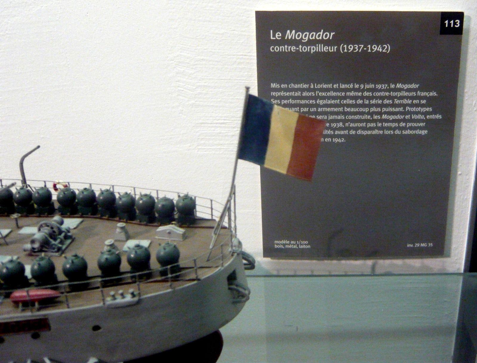 Contre-torpilleurs &quot&#x3B; le Mogador et le Tigre&quot&#x3B;
