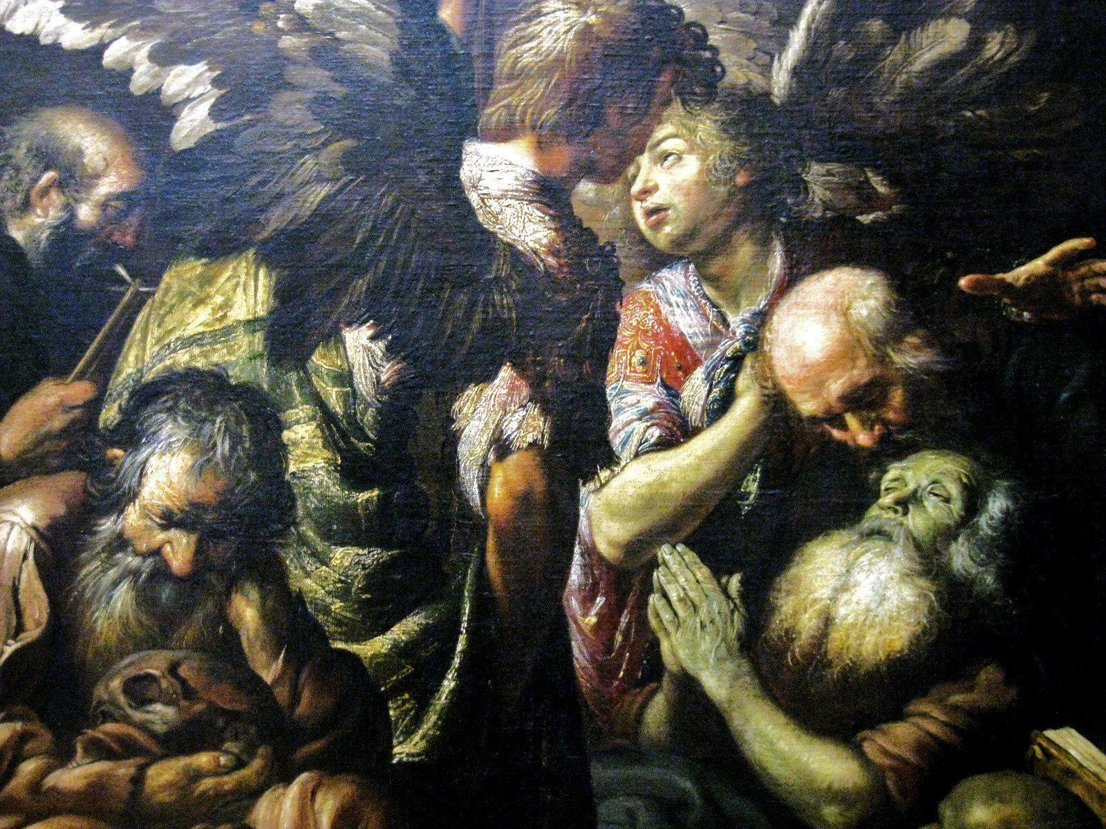 Claude Vignon, la mort de saint Antoine