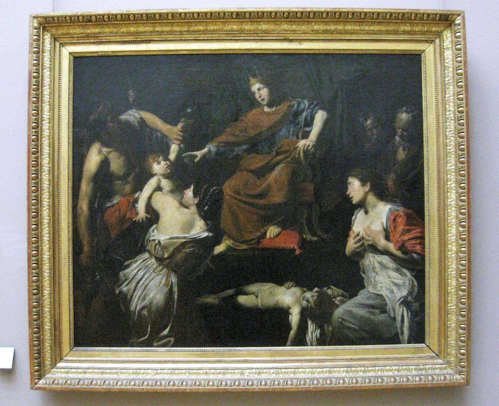 Valentin de Boulogne (Le Valentin), le jugement de Salomon
