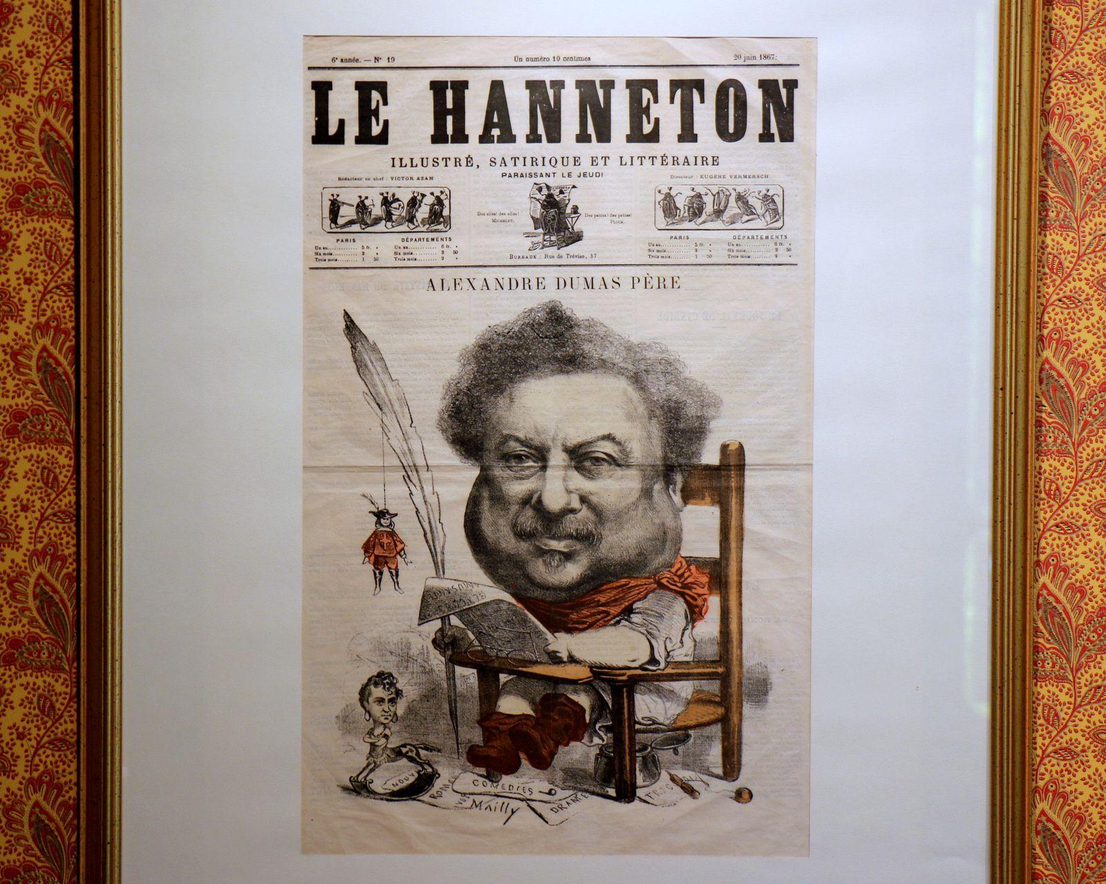Alexandre Dumas, caricatures