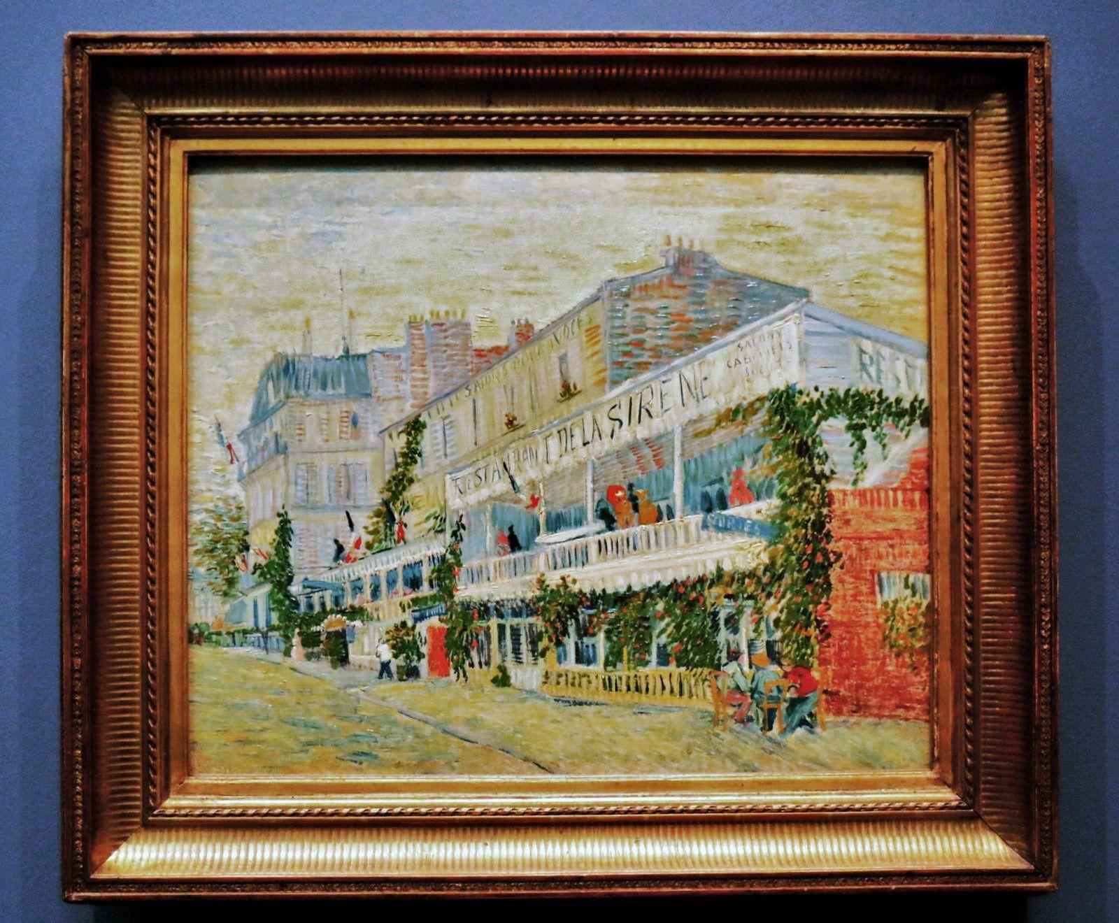 Vincent van Gogh, le Restaurant de la Sirène à Asnières