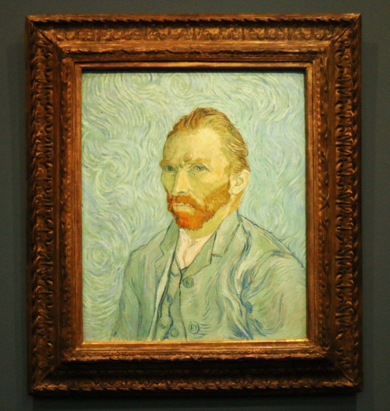 Vincent Van Gogh, portrait de l'artiste