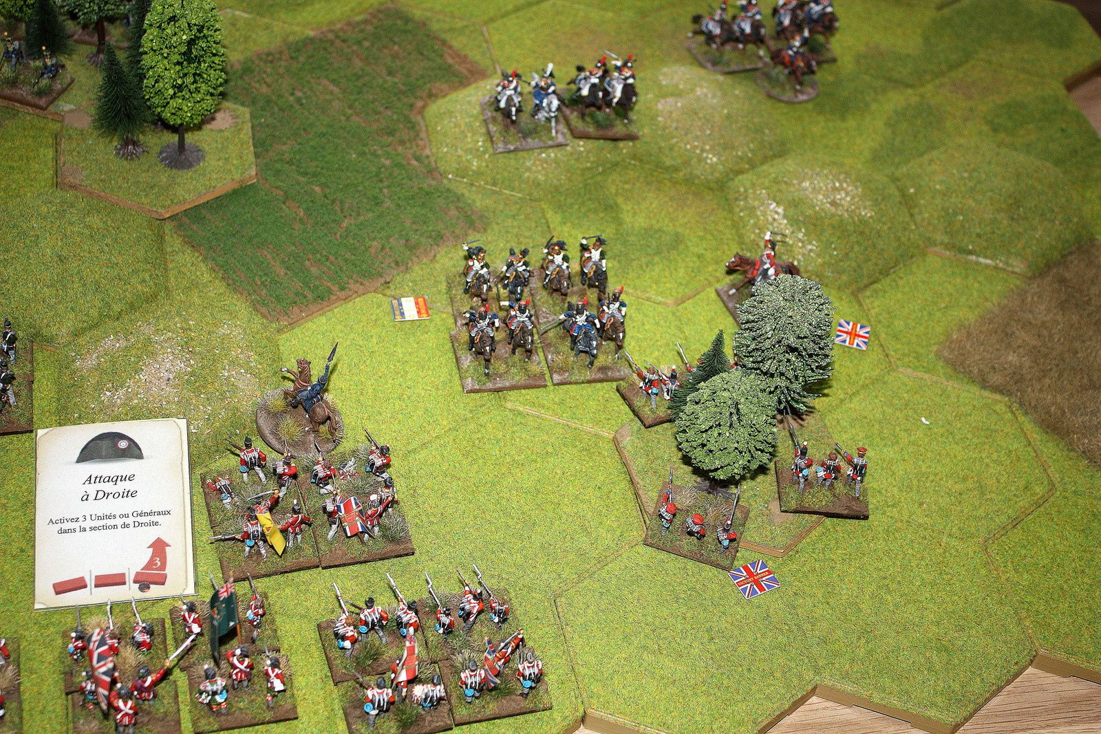 Bataille d'initiation à Commands and Colors Napoleonics