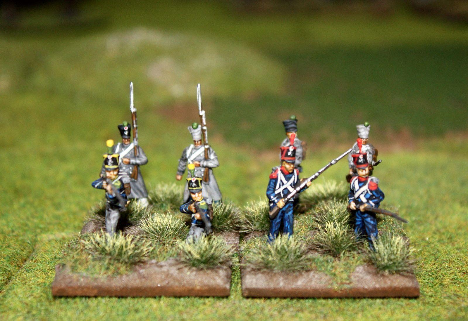 infanterie légère à 4 éléments.