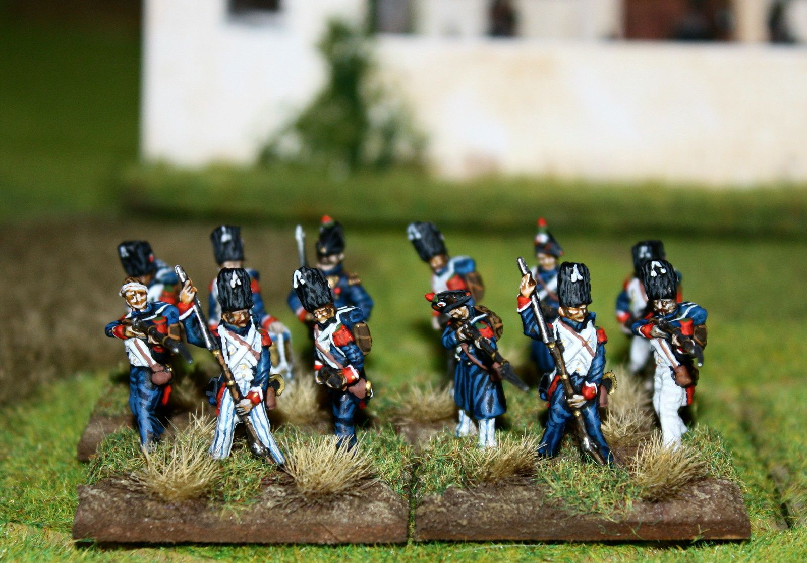 3ème et 4ème Chasseurs à pied de la Garde Impériale 1815.
