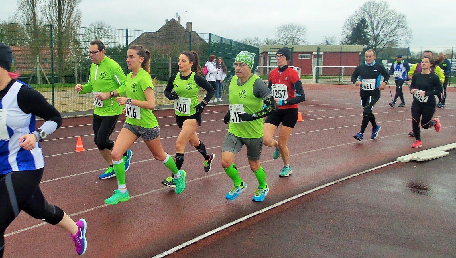 Course de l'heure, Montereau-Fault-Yonne, le 18 mars 2017