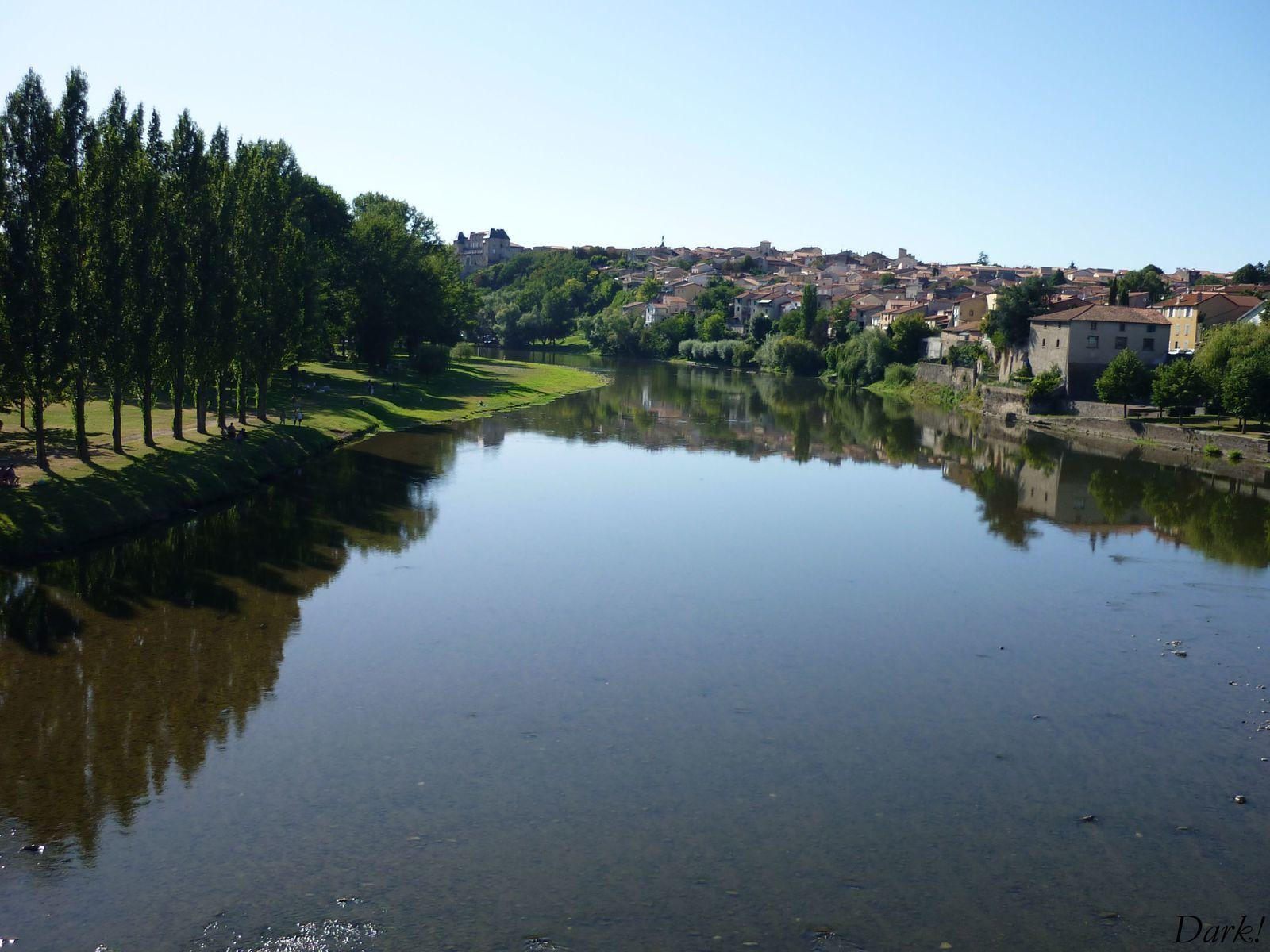 Kayak sur la rivière Allier